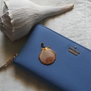 Seashell Pendent dipped in Gold Plating