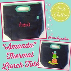 Thirty-One Thermal Lunch Tote in Topsy Turtle
