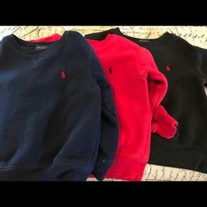 Polo sweatshirt bundle