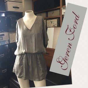 Geren Ford Dresses & Skirts - GEREN FORD V-Neck Dress w/Pockets XS