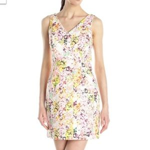 Jessica Simpson floral sheath dress