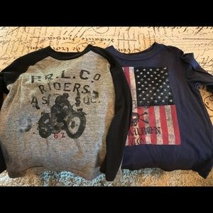 Polo by Ralph Lauren Shirts & Tops - Polo printed long sleeved tees