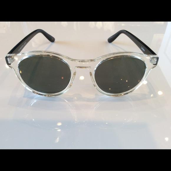 d15fc85da478 Le Specs Accessories - Le Specs Hey Macarena Clear Tortoise Sunglasses