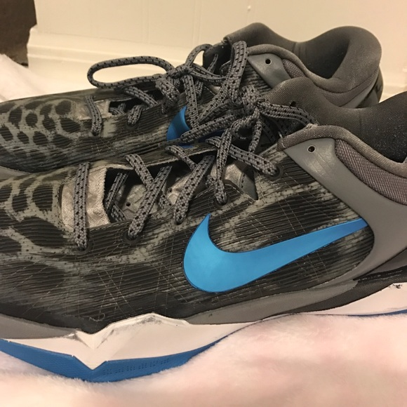 "75% off Nike Other - Nike Zoom Kobe VII ""Snow Leopard ..."