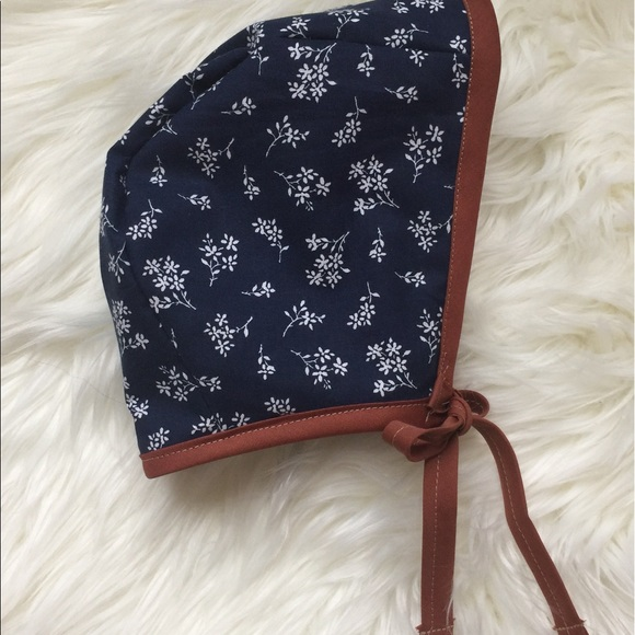 254ccc2fe Handmade Modern Baby Bonnet 🌿 NWT