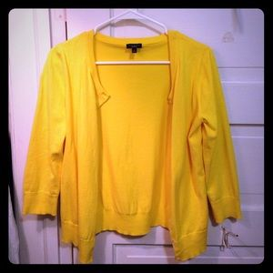 Talbots small yellow cardigan, in great condition!