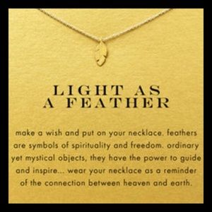 Gold Make a Wish Necklace