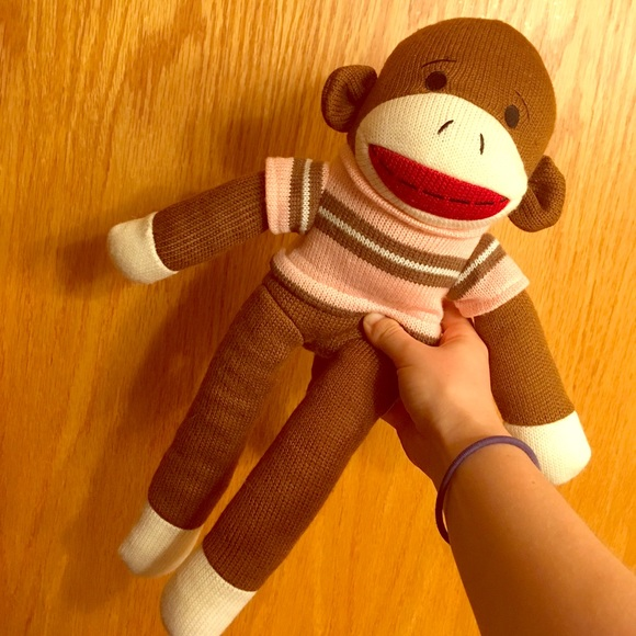Other Sock Monkey Stuffed Animal Poshmark