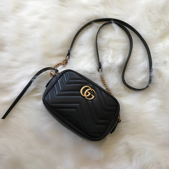 02cdc49ab Gucci Handbags - Gucci GG Marmont Matelassé Mini Bag