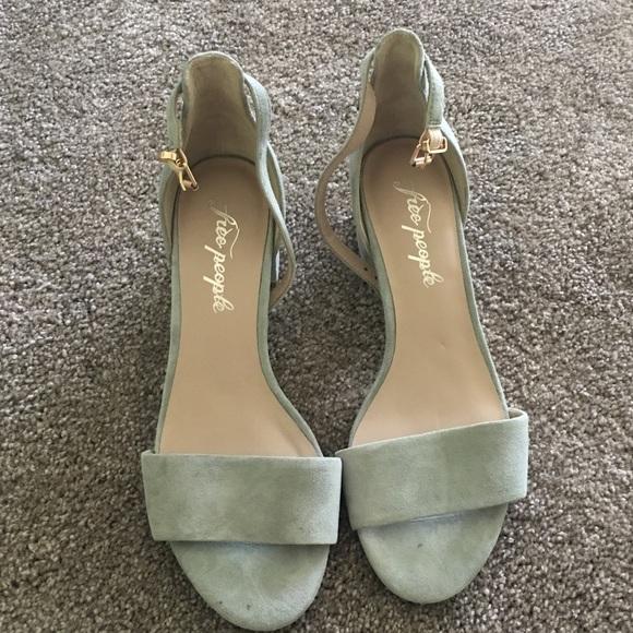 Grey Suede Sandals   Poshmark