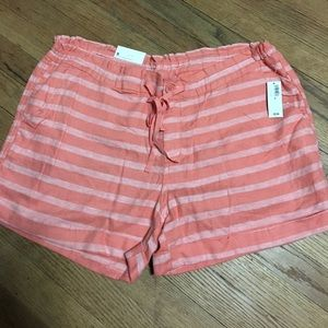 Old Navy Linen Stripped Shorts
