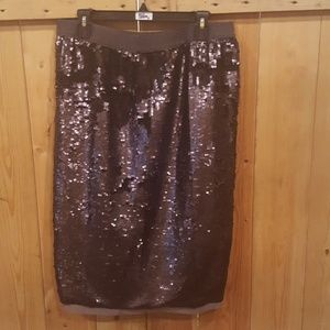 Who what wear sequin skirt