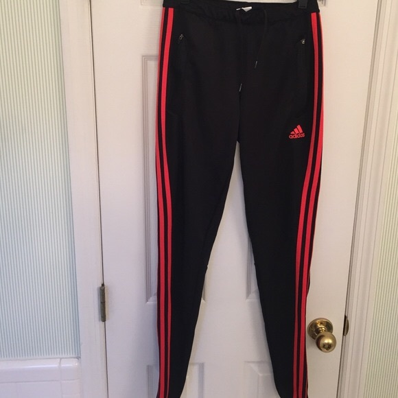 699f83c9 Black & red Adidas Tiro Soccer Pants