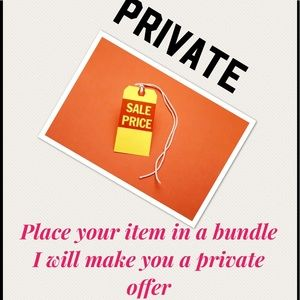 Private offer