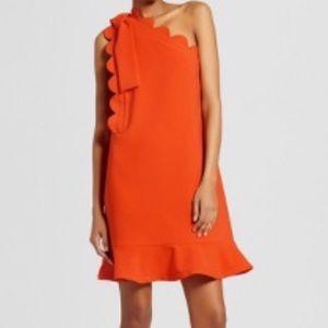  NWOT Victoria Beckham For Target Orange Dress