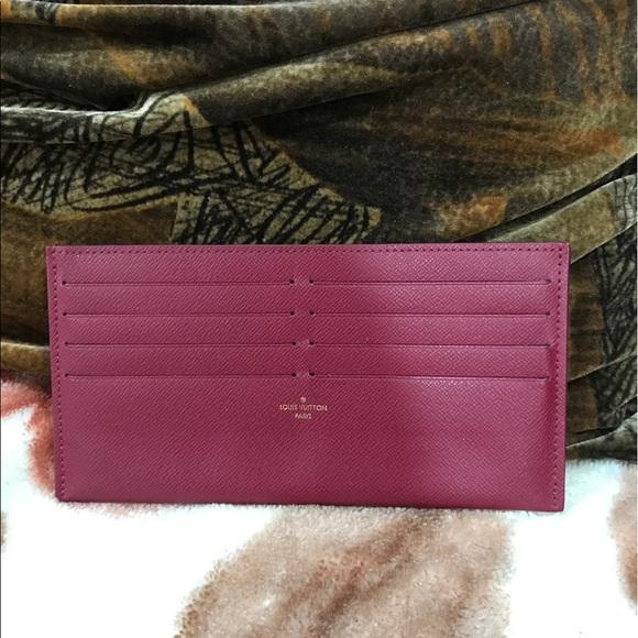 44576596f0b6 Louis Vuitton Handbags - Authentic Louis Vuitton credit card insert felicie