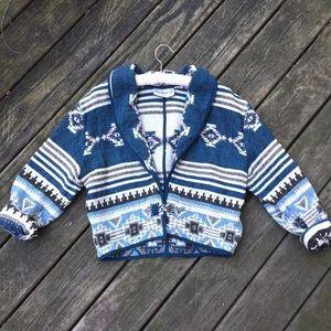 Aztec Print Tapestry Jacket