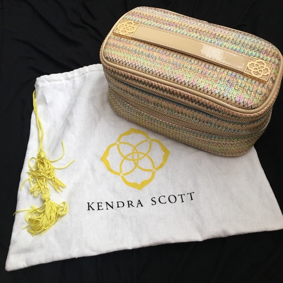 Kendra Scott Bags Makeup Bag W Dust Bag Poshmark