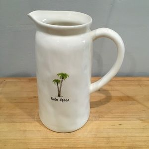 Rae Dunn Other - New Palm tree Rae Dunn Pitcher
