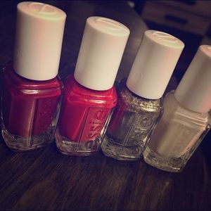 Essie Other - NWOT - LOT of FOUR Essie Mini Nail Polishes