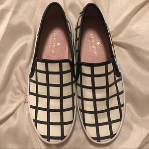 Kate Spade Checkered Shoes