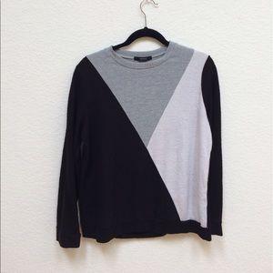 F21 Colorblock Sweater