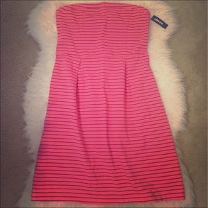 🎀NWT Old Navy🎀 Striped Strapless Dress