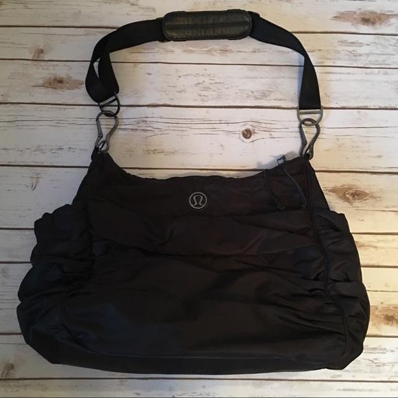 b66279ead9ec lululemon athletica Handbags - Lululemon Ruched Gym Bag