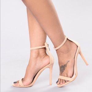 Fashion Nova Nude heels! BRAND NEW