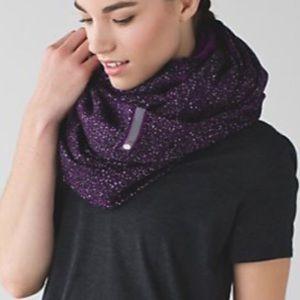 NEW Lululemon Vinyasa Scarf *Fleece - Violet NWOT