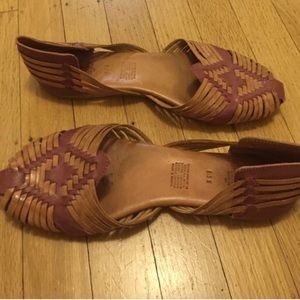 Will Leather Goods Shoes - Huaraches Sandals from Will Leather Goods size 8.5