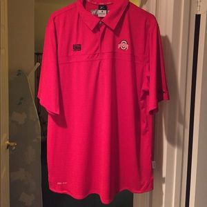 NEW Nike Ohio State x Lebron James Polo size Large