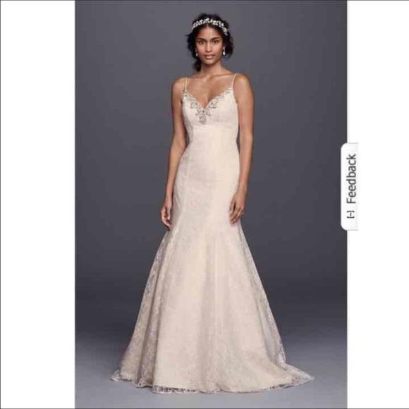David\'s Bridal Dresses   Nwt Jewel Wedding Gown   Poshmark