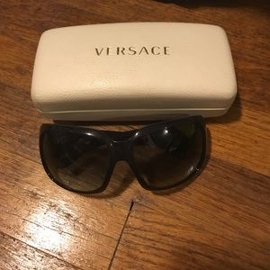 Versace Accessories - Dark purple Versace sunglasses