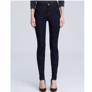 PAIGE DarkWash High Rise Maria Skinny Jeans 25