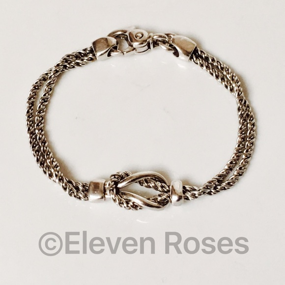 dabd6b176 Tiffany & Co. Double Knot Rope Chain Bracelet. M_59534f70522b4592a40ef1b3