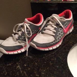 Women's Nike Free Runs running shoe size 8.5