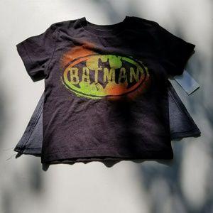 Batman Detachable Cape Tee size 12 months