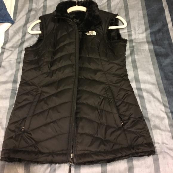 137fba25d The Northface Mossbud Swirl - black vest sz S
