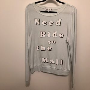 Wildfox x Clueless Need Ride to the Mall Sweater
