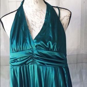Candies Green Slinky Large Dress Homecoming