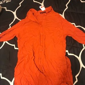 Tops - ORange blouse