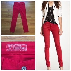 GUESS Red Jeans 4/27