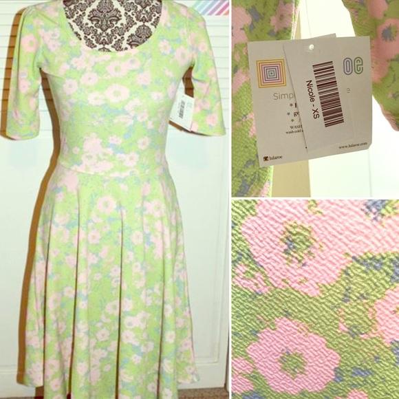 867635a4578 LuLaRoe Dresses | Nwt Nicole Hello Cute Easter Dress | Poshmark