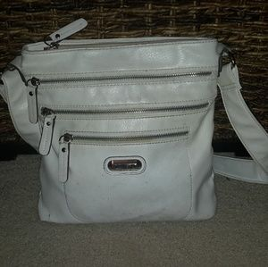 Tyler Rodan Handbags - Purse bag with tons of pockets white