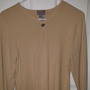 Sigrid Olsen Tops - Beige/ light tan sweater Sz L