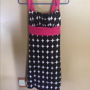 Dressbarn Polka Dot Dress