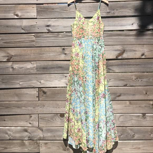 af1a34428f144 Anthropologie Yumi Kim Garden Song Maxi Dress