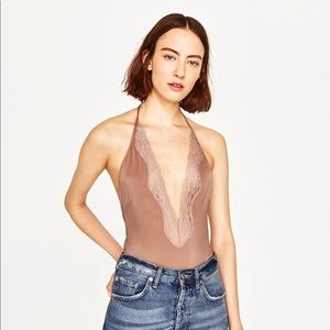 Zara Halter Neck Swinsuit