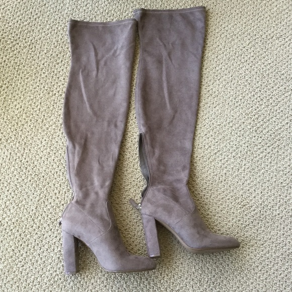 f685c5c5d9d Sexy tan knee high boots